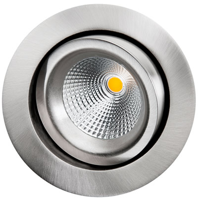 GYRO ISOSAFE BØRSTET STÅL 6W LED