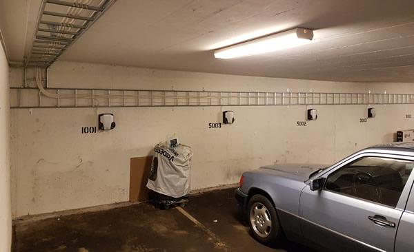 Elbil kontakter garasje