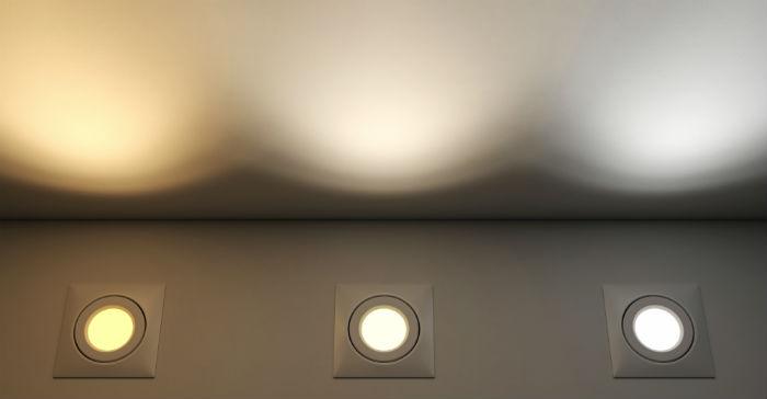 temperaturer på downlights